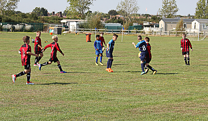 Sturry Kings vs Tyler Hill in the Under 11s' tournament