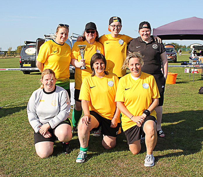 Thanet Ladies Vets - Winners of the Ladies' tournament