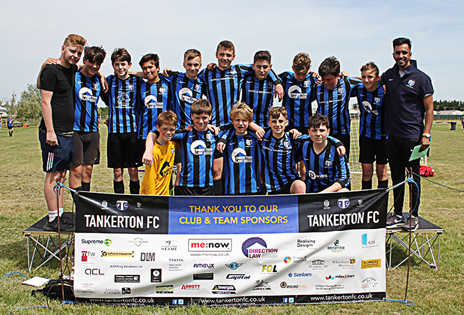 Tankerton FC Under 14s Coltsn
