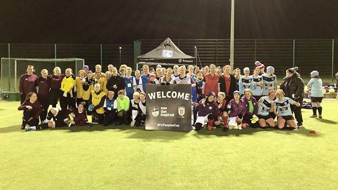 'Females Who Football' tournament event
