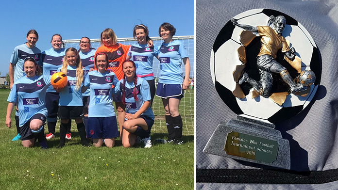 Successful first tournament for Females Who Football