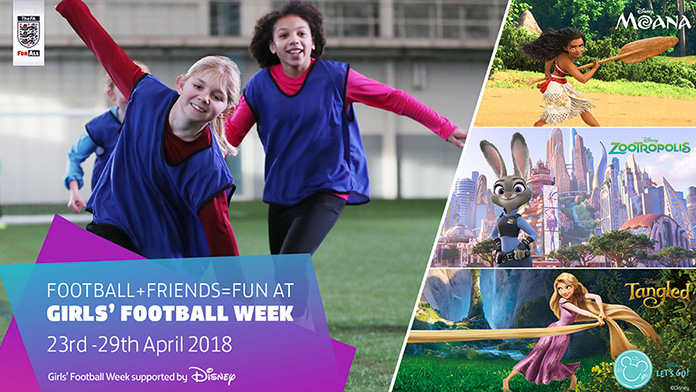 Give football a go in Tankerton Girls' Football Week