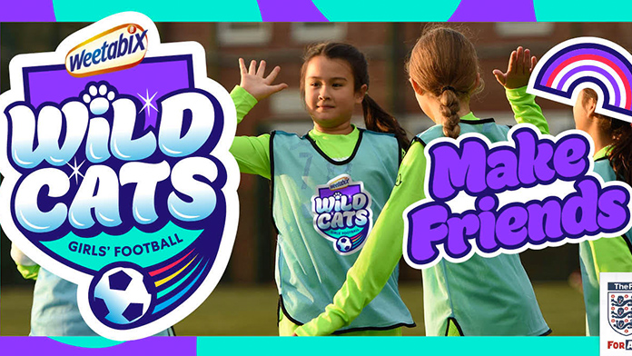 Girls-only Football sessions for 5-11 year olds - have fun, make friends, play football